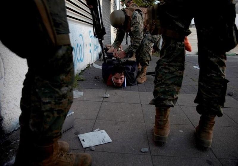 اعتراضات در شیلی به رغم شیوع کرونا ادامه دارد