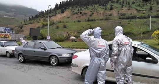 غربالگری 650 هزار نفر در محور های خروجی مازندران