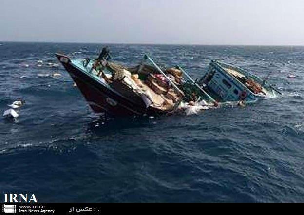 غرق شدن کشتی ایرانی در آبهای عراق