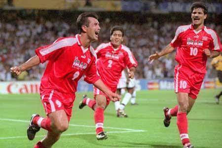 22 سال از برد تاریخی تیم ملی ایران در سیاسی ترین بازی جام جهانی گذشت
