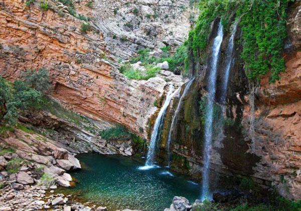 آبشار شوی، یکی از بزرگترین آبشارهای خاورمیانه
