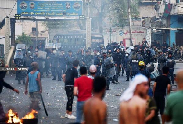 تداوم اعتراضات در جنوب عراق